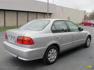 1999 Honda Civic Sedan Vogue Silver Metallic 1999 Honda Civic Vp Sedan Exterior
