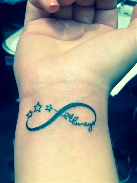 infinity tattoo boyfriend in memory of my beloved boyfriend the infinity sign for