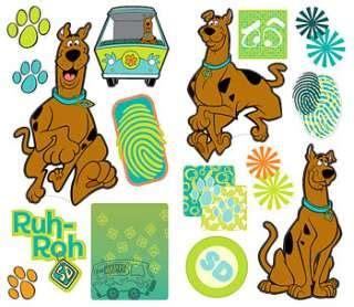 Stiker Scoopyi grizzly paw print vinyl decal sticker 5 purple