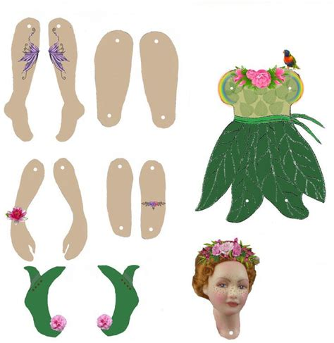 free printable jointed paper dolls 302 best jointed articulated paper dolls images on