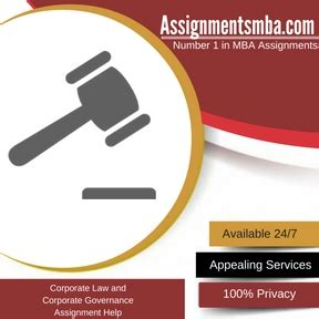 Mba Corporate Governance Assignment by Corporate And Corporate Governance Mba Assignment Help