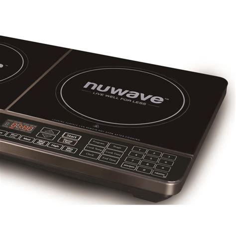 induction cooktop nuwave nuwave 30602 precision induction cooktop burner black vip outlet
