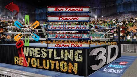 download mod game wrestling revolution 3d wrestling revolution 3d v1 440 mod youtube