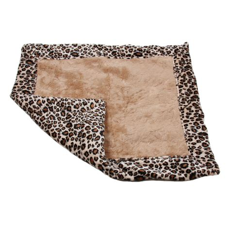 puppy blanket beige cheetah minky blanket by susan lanci blankets at glamourmutt