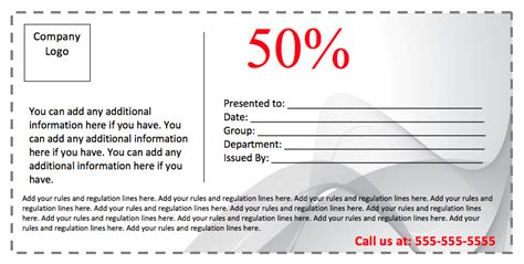 Doc 585450 Coupon Template For Word 15 Word Coupon Powerpoint Coupon Template