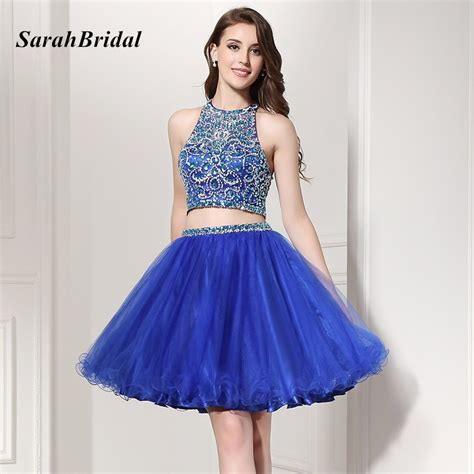 2 piece prom dresses for sale hot sale shining 2 piece homecoming dresses 2017 halter