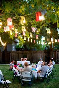 backyard birthday ideas for adults some creative outdoor home ideas