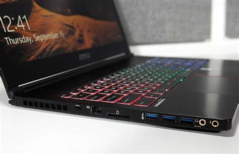 Msi Gs63vr 7rg Stealth Pro msi gs63vr 6rf stealth pro review and benchmarks
