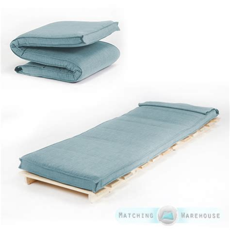 Single Size Futon Mattress Folding Foam Filled Removeable