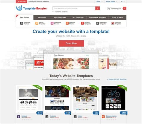 Templatemonster Giveaway Win Five Premium Templates Contest Ended Singapore Web Design Competition Website Template