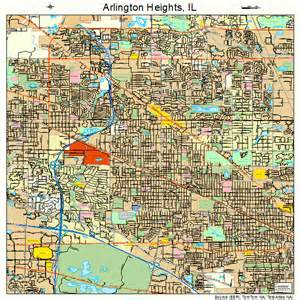 arlington heights illinois map 1702154