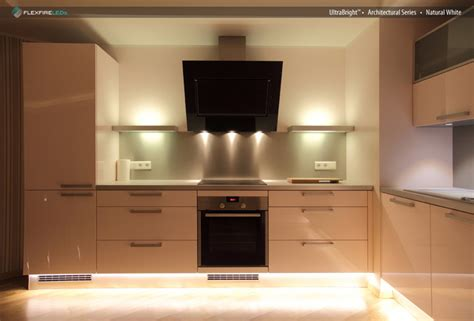 flexfire leds kitchen lighting cabinet modern