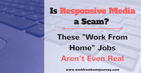 Is Responsive Media a Scam ? Work From Home Journey