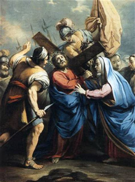 aiuto gesu a portare la croce venerd 236 santo