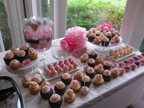 bridal shower desserts recipes all pink bridal shower dessert table tin cakes