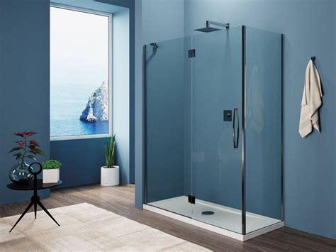 porte doccia cristallo prezzi box doccia in cristallo con porte a battente by tike
