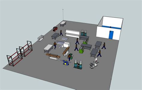 Floor Plan Classroom by Modeling Workflow To Design A New Shop Layout