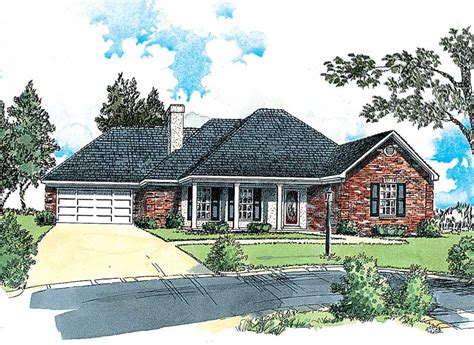 hip roof ranch house plans madsen traditional ranch home plan 092d 0007 house plans