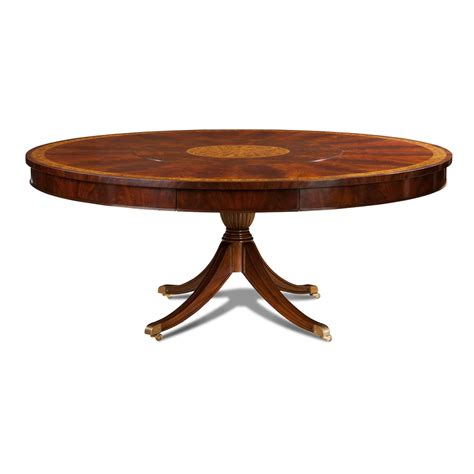 round table with lazy susan large round mahogany dining table with built in lazy susan