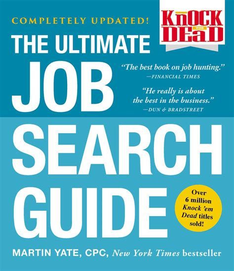 knock em dead the ultimate search guide books knock em dead ebook by martin yate official publisher