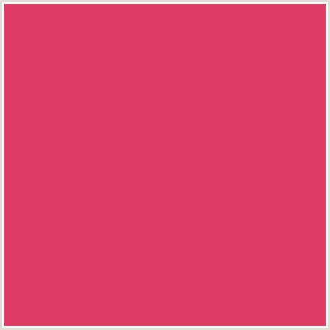 color cerise de3c64 hex color rgb 222 60 100 cerise