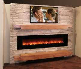 Modern stone amp fireplace media wall stone creek furniture