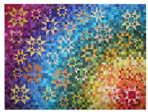 The Rainbow Quilt Pattern by Pattern For The Rainbow Quilt