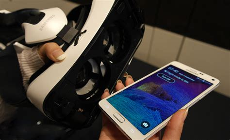 Gear Vr Note 4 update to samsung galaxy note 4 prepares phone for gear vr