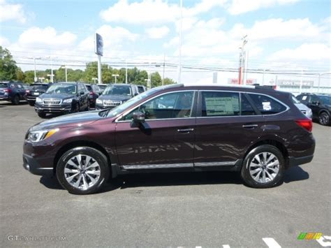 subaru outback touring interior 2017 brilliant brown pearl subaru outback 3 6r touring