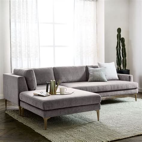 couch west elm best 25 chaise couch ideas on pinterest wood frame