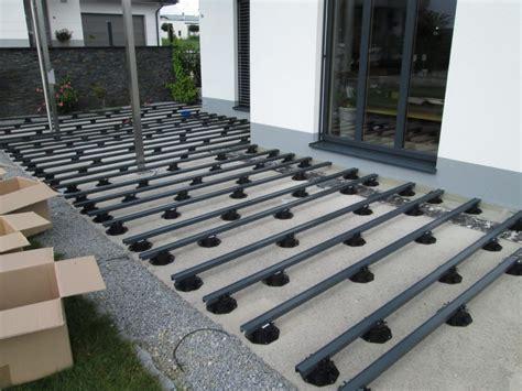 terrasse a terrasse thermoesche formstabiles heimisches holz