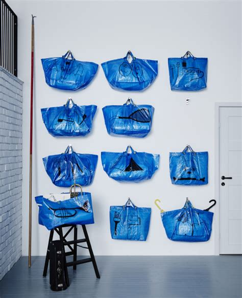 ikea bag ways to use ikea blue bags