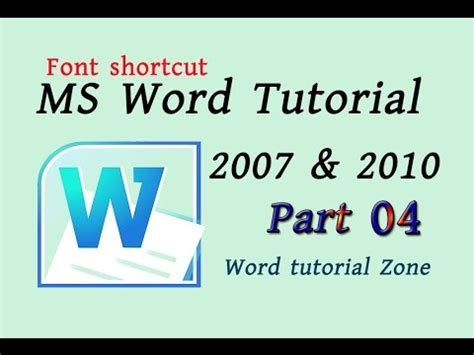 typography bangla tutorial microsoft office word beginners tutorial font shortcut2
