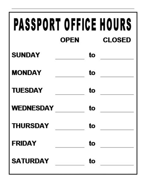 office hours sign images