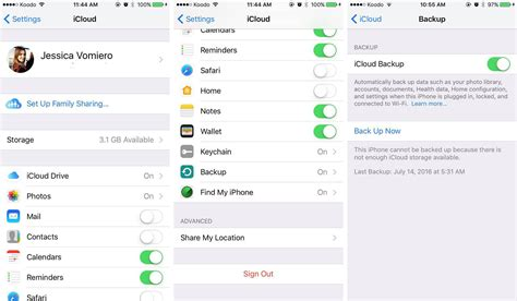 icloud backup for android how to back up and restore your ios device using itunes and icloud