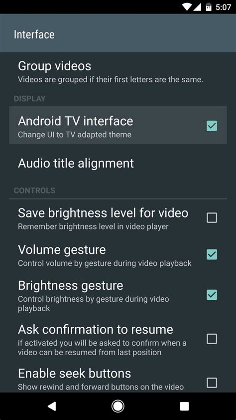 vlc media player for android vlc 101 how to get a tv style interface in your android media player 171 android gadget hacks