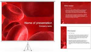 Blood Ppt Templates Free by Blood Cells Powerpoint Template Backgrounds Id