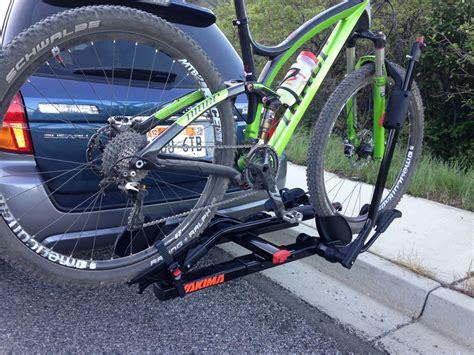 Yakima Holdup 2 Bike Hitch Rack by Yakima Holdup 2 Quot Hitch Bike Rack Review Feedthehabit