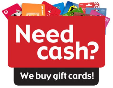 sell a gift card turn gift cards into