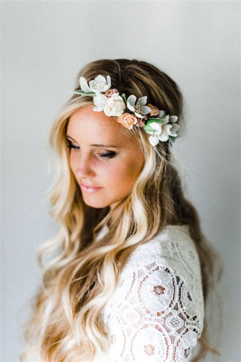 68 flower crown ideas to complete your wedding hairstyle 12 gorgeous handmade hair accessories intimate weddings