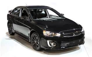 Mitsubishi Lancer 2017 Mitsubishi Lancer And Rvr Offered In Black Edition
