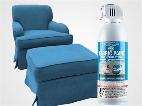 Spray Upholstery Paint by Caribbean Blue Upholstery Fabric Simply Spray Paint