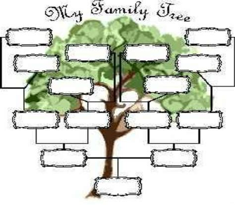 blank family tree template for blank family tree page view size ancestry