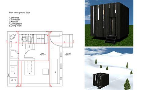 micro house design by gabrijela tumbas papic micro house on behance
