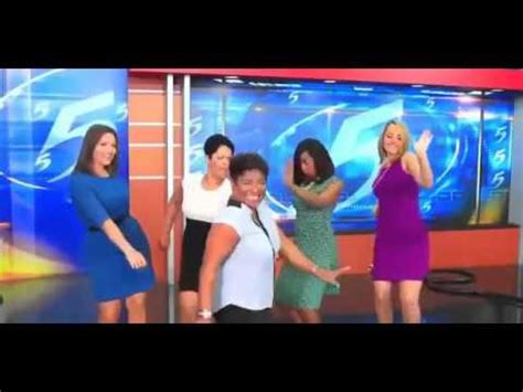 news channel 5 memphis anchors memphis news anchors dance to hit the quan on live air