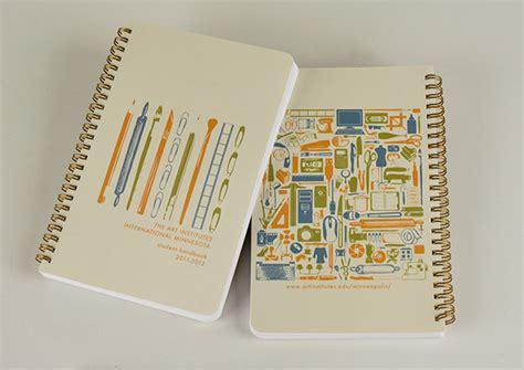 cover design handbook student handbook design on behance