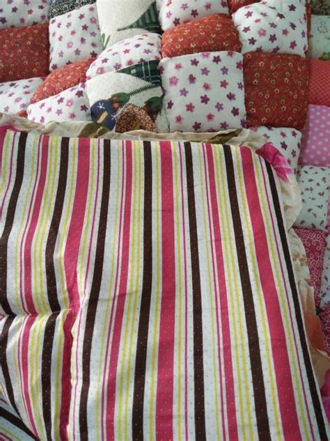 Karpet Patchwork Murah toto viral karpet patchwork cotton kedai cadar
