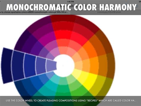 what is monochromatic color monochromatic color harmony home design