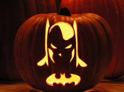 batman pumpkin template batman pumpkin daily waffle