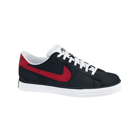 classic sneakers mens nike sweet classic leather sneakers in black for